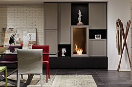 Firebox 450SS Single Sided Fireplace - In-Situ Image by EcoSmart Fire