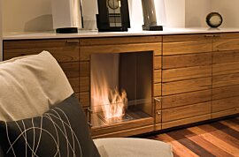 Firebox 650SS Single Sided Fireplace - In-Situ Image by EcoSmart Fire