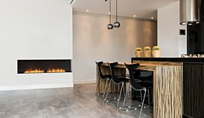 Flex 122RC.BX2 Flex Fireplace - In-Situ Image by EcoSmart Fire