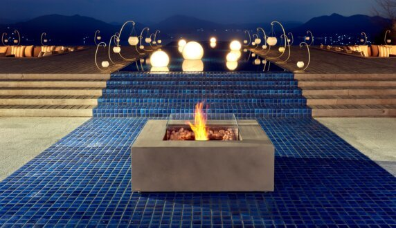 Commercial Space - Base Fire Table by EcoSmart Fire