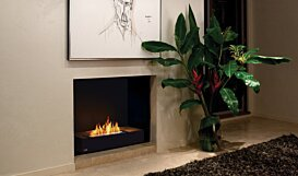 Grate 30 Built-In Fireplace - In-Situ Image by EcoSmart Fire