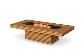 Gin 90 (Chat) Outdoor Fireplace - Studio Image by EcoSmart Fire