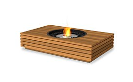 Martini 50 Outdoor Fireplace - Studio Image by EcoSmart Fire