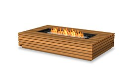 Wharf 65 Outdoor Fireplace - Studio Image by EcoSmart Fire