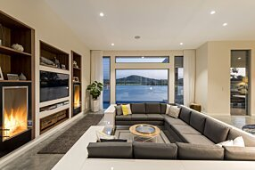 Private Residence - Firebox 450SS Premium Fireplace by EcoSmart Fire