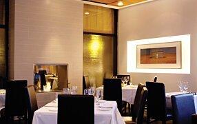 Equinox Restaurant - Firebox 900DB Premium Fireplace by EcoSmart Fire