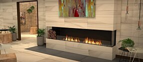 Lounge Area - Flex 104BY.BXL Flex Fireplace by EcoSmart Fire