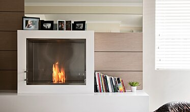 Aspect Designer Fireplace - In-Situ Image by EcoSmart Fire