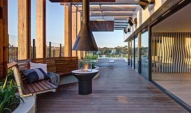 Hamton's Haven Development - Outdoor Fireplaces