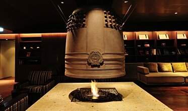 Chikusenso Mt Zao Onsen Resort & Spa - Built-In Fireplaces