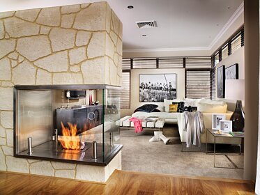 C Fire - Built-In Fireplaces