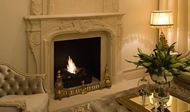 Chateau Couture - Built-In Fireplaces
