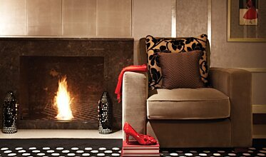Wyndham Grand Hotel - Built-In Fireplaces