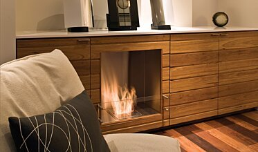 Southern Ocean Lodge - Fireplace Inserts
