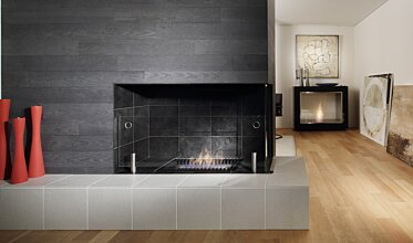 Scope 500 Fireplace Grate - In-Situ Image by EcoSmart Fire