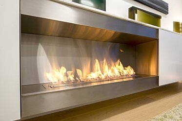 Paddington Residence - Built-In Fireplaces