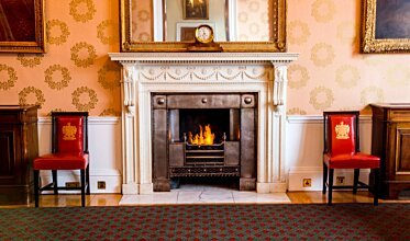 Trinity House - Built-In Fireplaces