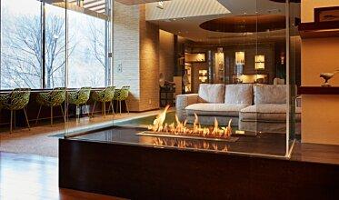 Midorinokaze Resort Kitayuzawa - Built-In Fireplaces
