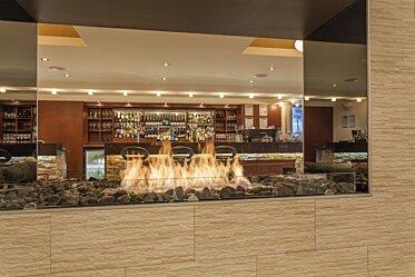 Black Salt Restaurant - Built-In Fireplaces