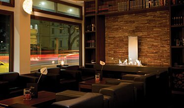 Flemings Hotel - Built-In Fireplaces