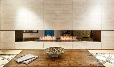 Fujiya Mansions - Built-In Fireplaces