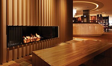 Keio Plaza Hotel - Built-In Fireplaces