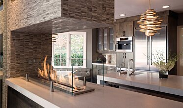 Notion Design - Built-In Fireplaces