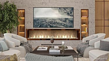 SoIncev Interiors - Built-In Fireplaces