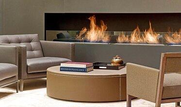 St Regis Hotel Lobby - Built-In Fireplaces