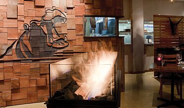 Hippo Creek African Grill - Built-In Fireplaces