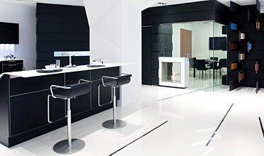 Snaidero Showroom - Designer Fireplaces