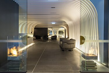 SKYE Suites Sydney - Designer Fireplaces