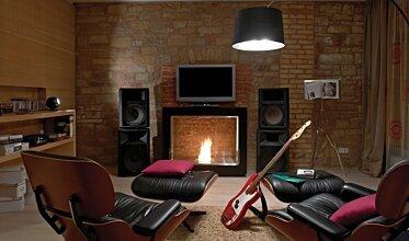 Cottage Lösch für Freunde - Designer Fireplaces