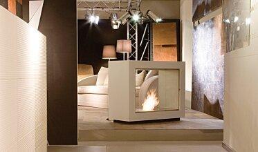Milan Fair - Designer Fireplaces