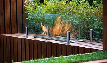Melbourne International Flower and Garden Show - Built-In Fireplaces