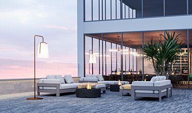Commercial Space - Outdoor Fireplaces