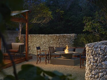 Ayre Fire Pit - In-Situ Image by EcoSmart Fire