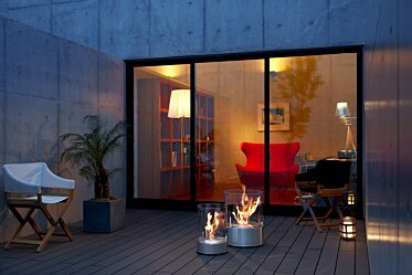 Private Residence - Outdoor Fireplaces