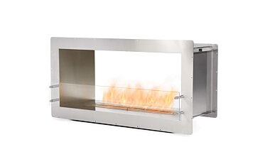 Firebox 1200DB Double Sided Fireplace - Studio Image by EcoSmart Fire