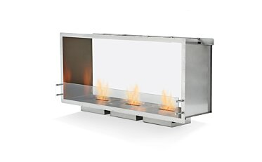 Firebox 1800DB Double Sided Fireplace - Studio Image by EcoSmart Fire