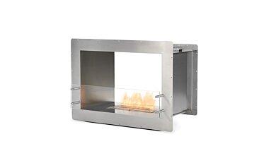 Firebox 800DB Double Sided Fireplace - Studio Image by EcoSmart Fire