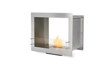 Firebox 900DB Double Sided Fireplace - Studio Image by EcoSmart Fire