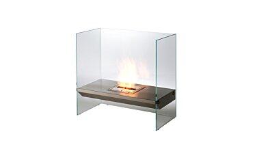 Igloo Modern Fireplace - Studio Image by EcoSmart Fire