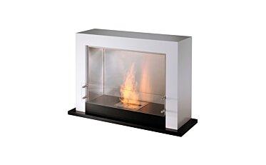 Oxygen Designer Fireplace - Studio Image by EcoSmart Fire