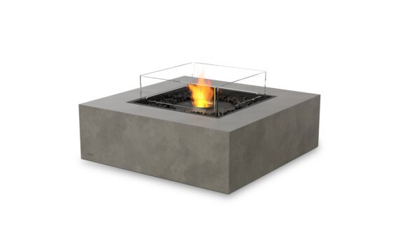 Base 40 Fire Table - Ethanol - Black / Natural / Optional Fire Screen by EcoSmart Fire