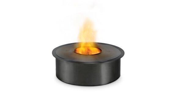AB8 (EN) Ethanol Burner - Ethanol / Black / Top Tray Included by EcoSmart Fire