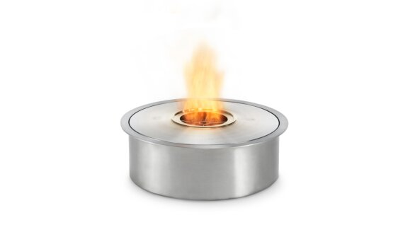 AB8 (EN) Ethanol Burner - Ethanol / Stainless Steel / Top Tray Included by EcoSmart Fire