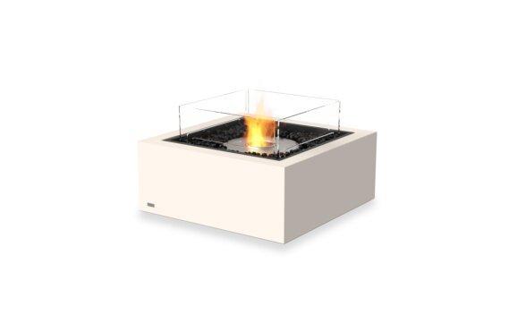 Base 30 Fire Table - Ethanol / Bone / Optional Fire Screen by EcoSmart Fire