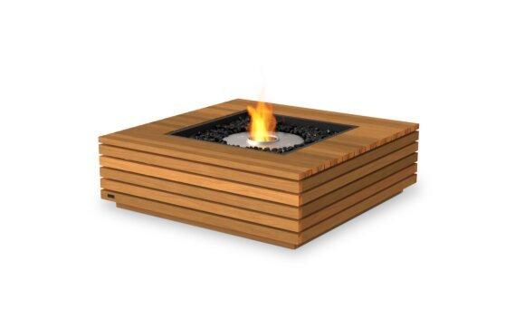 Base 40 Fire Table - Ethanol / Teak by EcoSmart Fire