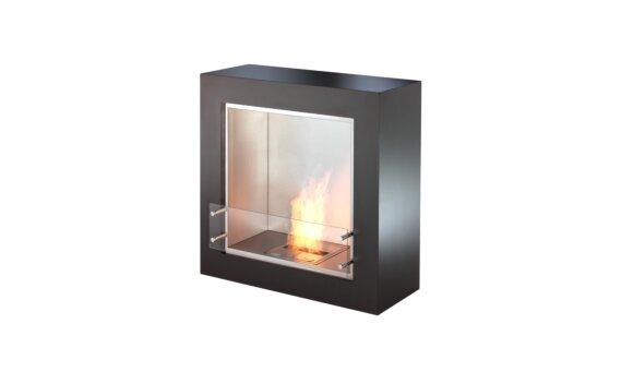 Cube Designer Fireplace - Ethanol / Black by EcoSmart Fire